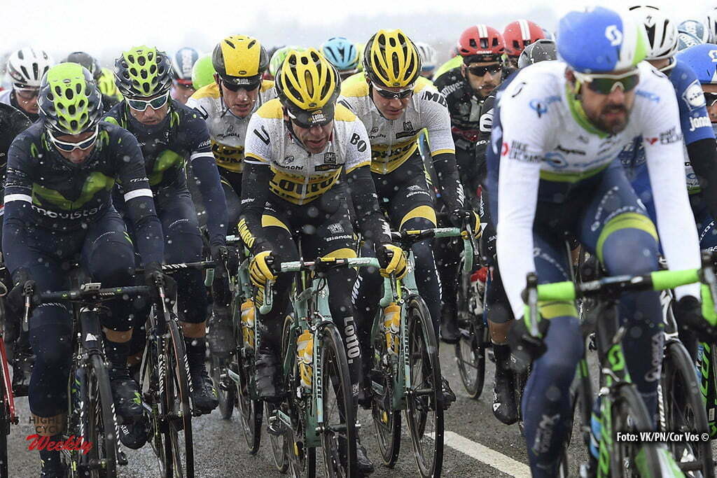 VendÙme - France - wielrennen - cycling - radsport - cyclisme - Bram Tankink (Netherlands / Team Lotto Nl - Jumbo) - Wilco Kelderman (Netherlands / Team Lotto Nl - Jumbo) - Jos Van Emden (Netherlands / Team Lotto Nl - Jumbo) pictured during 74th edition of Paris - Nice - stage 1 - CondÈ-sur-Vesgre to VendÙme - 198km - photo VK/PN/Cor Vos © 2016