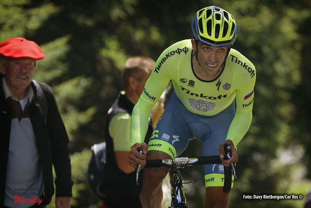 Les Gets - France - wielrennen - cycling - radsport - cyclisme - Contador Velasco Alberto (Spain / Team Tinkoff - Tinkov) pictured during the prologue of the Critérium du Dauphiné 2016 - photo Davy Rietbergen/Cor Vos © 2016