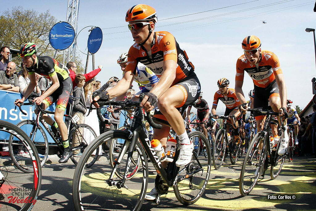 Frankfurt - Germany - wielrennen - cycling - radsport - cyclisme - Maurits Lammertink (Netherlands / Roompot - Oranje Peloton) pictured during the Rund um den Finanzplatz Eschborn-Frankfurt - photo HR/Cor Vos © 2016