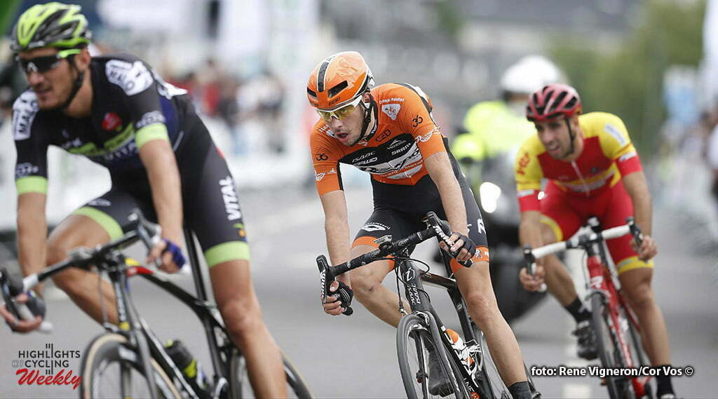 Hesperange - Luxembourg - wielrennen - cycling - radsport - cyclisme - Etienne van Empel (Netherlands / Roompot - Oranje Peloton) pictured during stage 1 of the Tour de Luxembourg 2016 - from Luxembourg to Hesperange (170,6 km) photo Rene Vigneron/Cor Vos © 2016