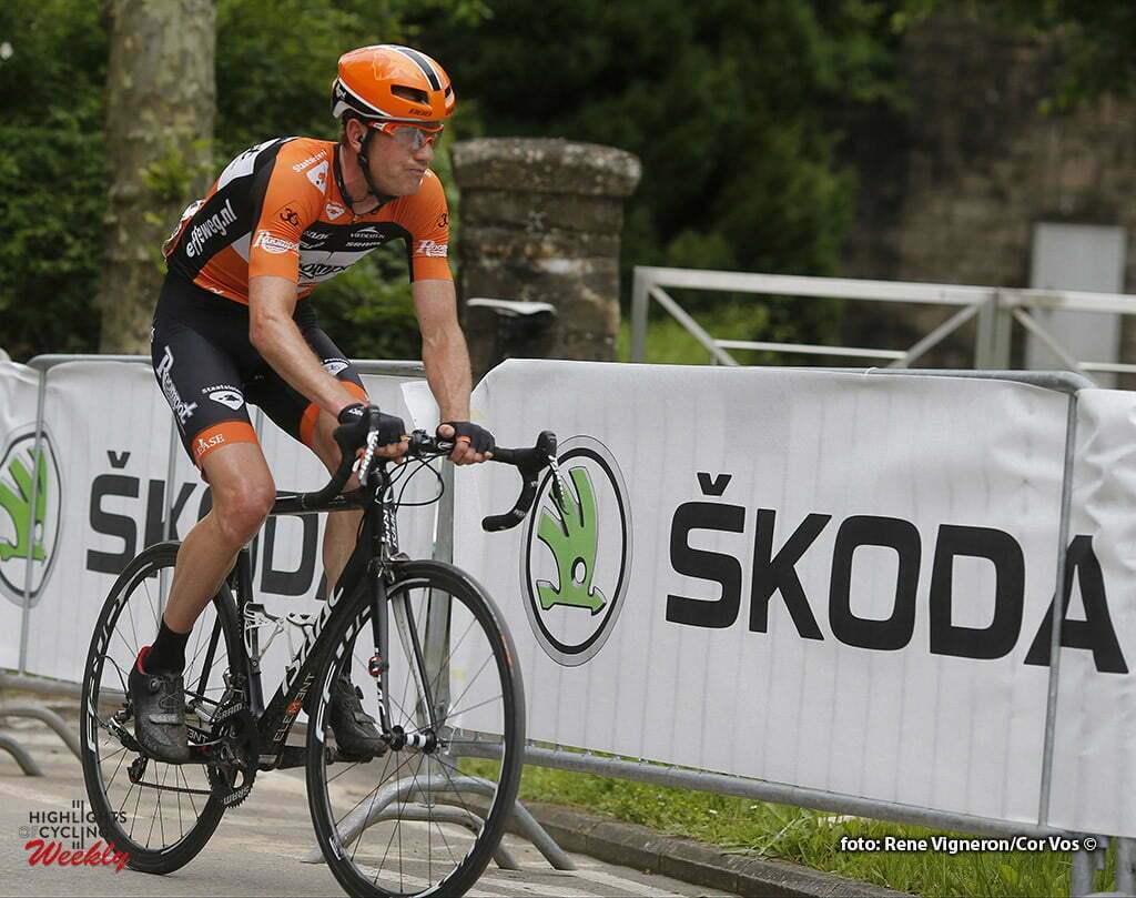 Schifflange - Luxembourg - wielrennen - cycling - radsport - cyclisme - Pieter Weening (Netherlands / Roompot - Oranje Peloton) pictured during stage 2 of the Tour de Luxembourg 2016 - from Rosport to Schifflange (162,8 km) - photo Rene Vigneron/Cor Vos © 2016