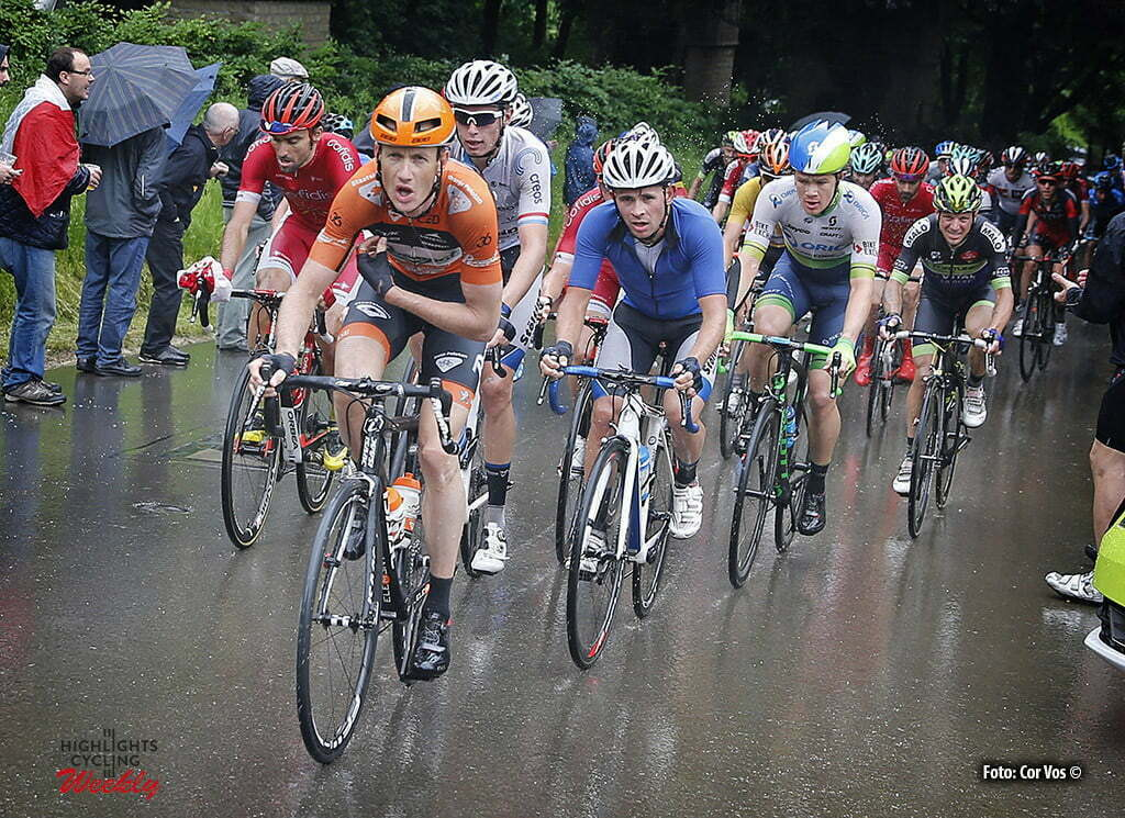 Differdange - Luxembourg - wielrennen - cycling - radsport - cyclisme - Pieter Weening (Netherlands / Roompot - Oranje Peloton) pictured during stage 3 of the Tour de Luxembourg 2016 - from Eschweiler (Wiltz) to Differdange (177,4 km) - photo Rene Vigneron/Cor Vos © 2016
