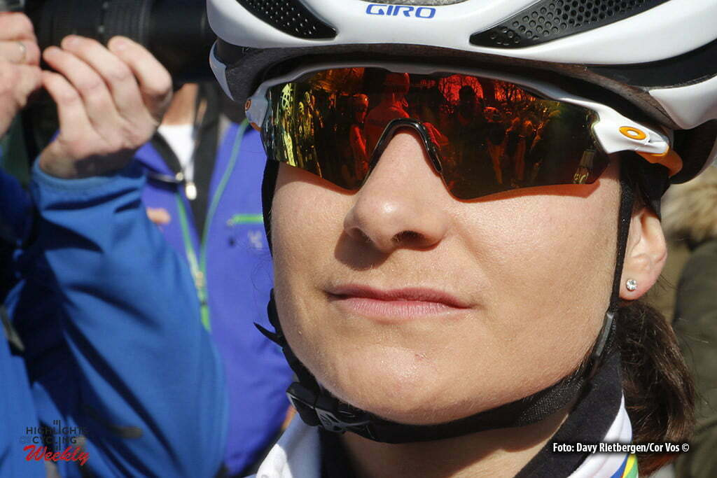 Dwingeloo - Netherlands - wielrennen - cycling - radsport - cyclisme - Vos Marianne (Netherlands / Rabobank Liv Women Cycling Team) pictured during the Drentse Acht van Westerveld in Dwingeloo - photo Davy Rietbergen/Cor Vos © 2016