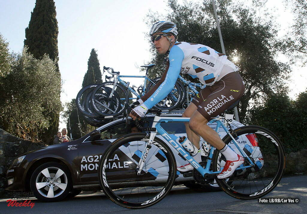 Bordighera - wielrennen - cycling - radsport - cyclisme - Jan Bakelants (AG2R - La Mondiale) pictured during Le Mediterraneenne 2016 - stage 4 - from Bordighera to Bordighera 87 Km - 14/02/2016 - photo LB/RB/Cor Vos © 2016
