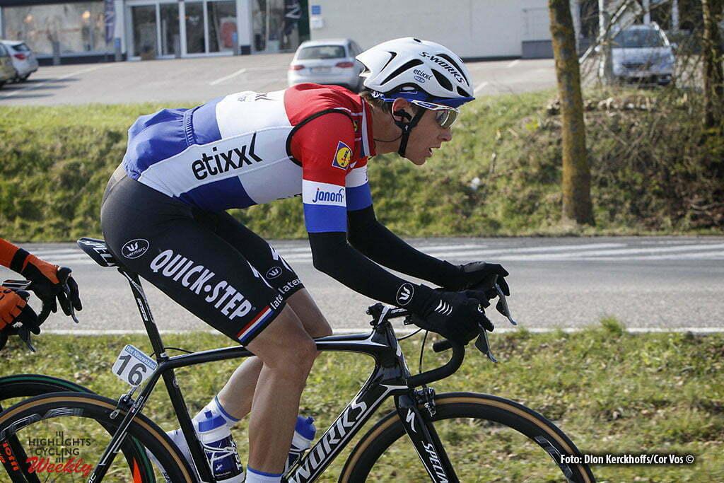 Gent - Belgium - wielrennen - cycling - radsport - cyclisme - Niki Terpstra (Netherlands / Team Etixx - Quick Step) pictured during Omloop Het Nieuwsblad- mannen - men elite / Circuit Het Nieuwsblad- hommel elite 2016 - photo Dion Kerckhoffs//Cor Vos © 2016