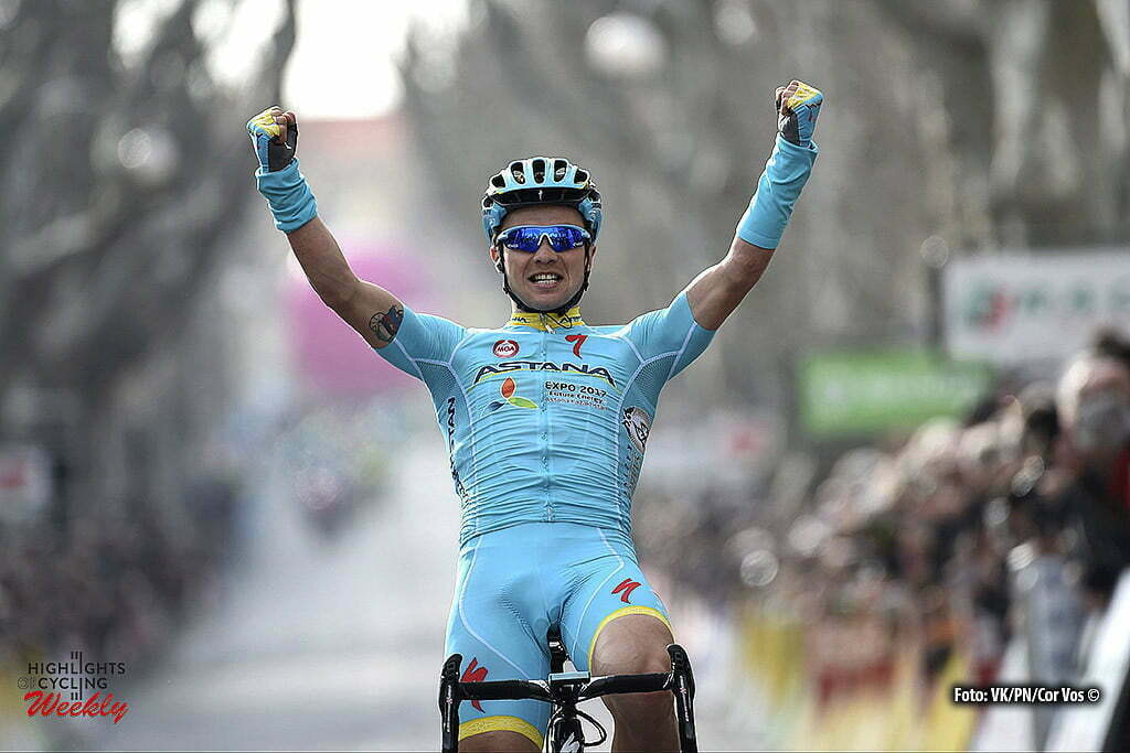 Salon-de-Provence - France - wielrennen - cycling - radsport - cyclisme - Lutsenko Alexey (Kasachstan / Team Astana) during the stage 5 of the 74th Paris - Nice cycling race, a stage of 198 kms with start in Saint-Paul-Trois-Chateaux and finish in Salon-de-Provence, France - photo VK/PN/Cor Vos © 2016