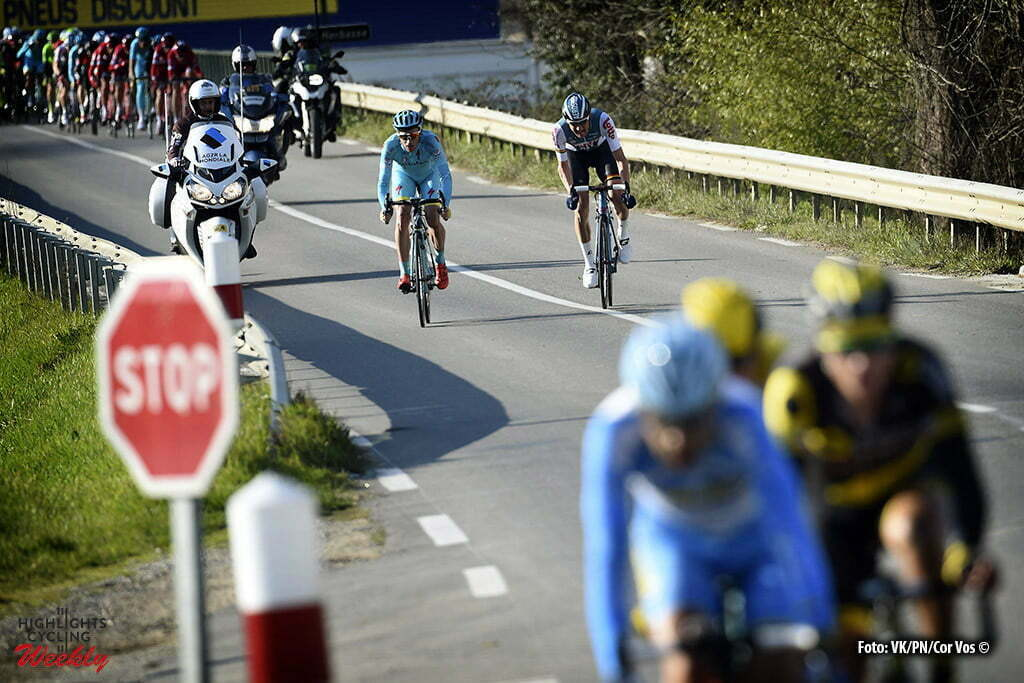 Romans-sur-Isere - France - wielrennen - cycling - radsport - cyclisme -Romans-sur-Isere - France - wielrennen - cycling - radsport - cyclisme - Lieuwe Westra (Netherlands / Team Astana) - Tim Wellens (Belgium / Team Lotto Soudal) pictured during stage 5 from Julienas to Romans-sur-Isere of the 74th Paris - Nice cycling race. - photo VK/PN/Cor Vos © 2016 pictured during stage 5 from Julienas to Romans-sur-Isere of the 74th Paris - Nice cycling race. - photo VK/PN/Cor Vos © 2016
