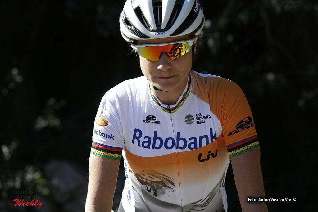 Calpe - Spain - wielrennen - cycling - radsport - cyclisme - Vos Marianne (Netherlands / Rabobank Liv Women Cycling Team) pictured during trainingstage team Rabo LIV Women Cycling Team in Calpe, Spain - photo Anton Vos/Cor Vos © 2016