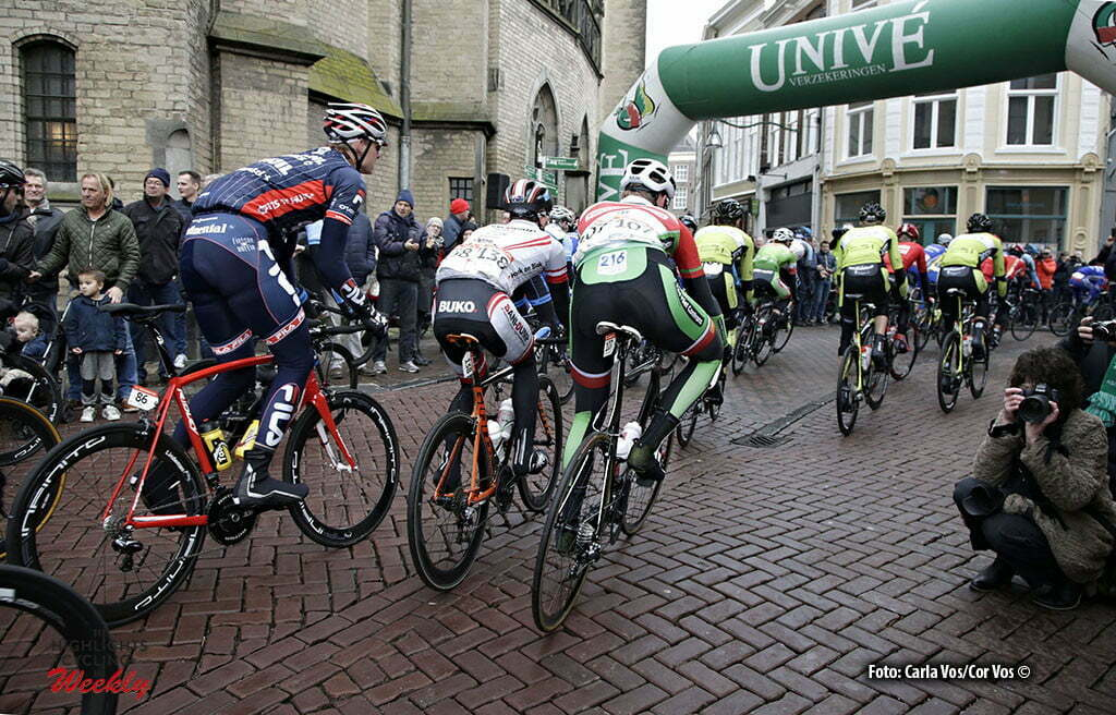 Zwolle - Netherlands - wielrennen - cycling - radsport - cyclisme - illustration - scenery - start in Zwolle pictured during the Ster van Zwolle - Star of Zwolle - photo Carla Vos/Cor Vos © 2016