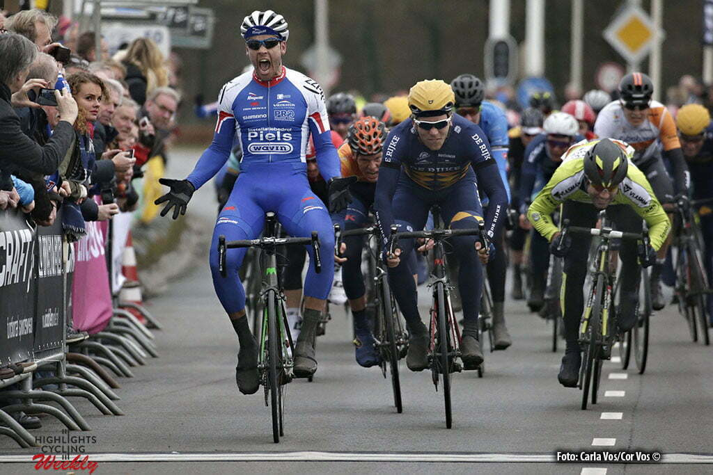 Zwolle - Netherlands - wielrennen - cycling - radsport - cyclisme - Jeff Vermeulen (Team Jo Piels) pictured during the Ster van Zwolle - Star of Zwolle - photo Carla Vos/Cor Vos © 2016
