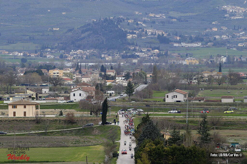 Foligno - Italia - wielrennen - cycling - radsport - cyclisme - illustration - sfeer - illustratie pictured during the 51st Tirreno Adriatico 2016 stage 4 from Montalto di Castro to Foligno 216 km - photo IB/RB/Cor Vos © 2016