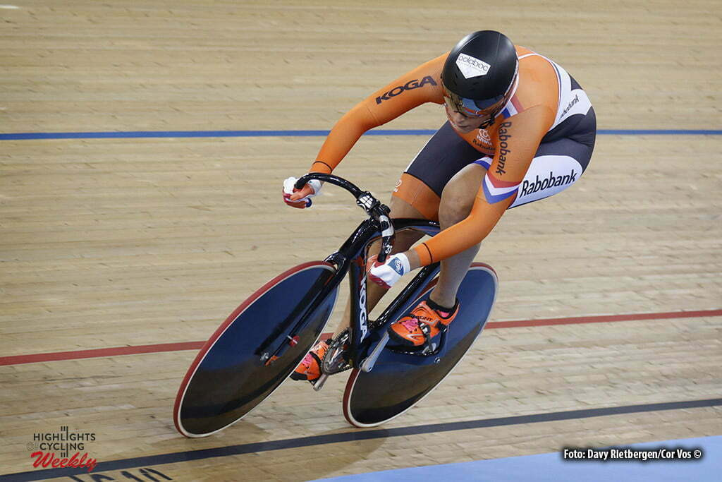 London - Great Brittain - wielrennen - cycling - radsport - cyclisme - Men's Team Sprint - Elis Ligtlee pictured during Worldchampionships Track 2016 in London (GBR) - photo Davy Rietbergen/Cor Vos © 2016