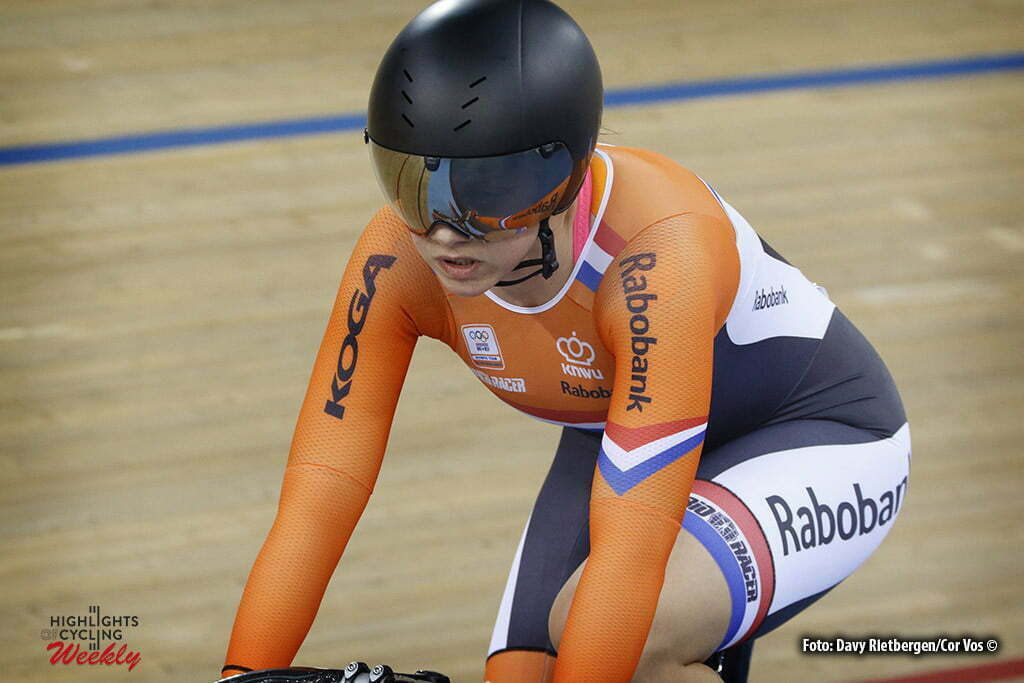 London - Great Brittain - wielrennen - cycling - radsport - cyclisme - Women's Team Sprint - Laurine van Riessen pictured during Worldchampionships Track 2016 in London (GBR) - photo Davy Rietbergen/Cor Vos © 2016