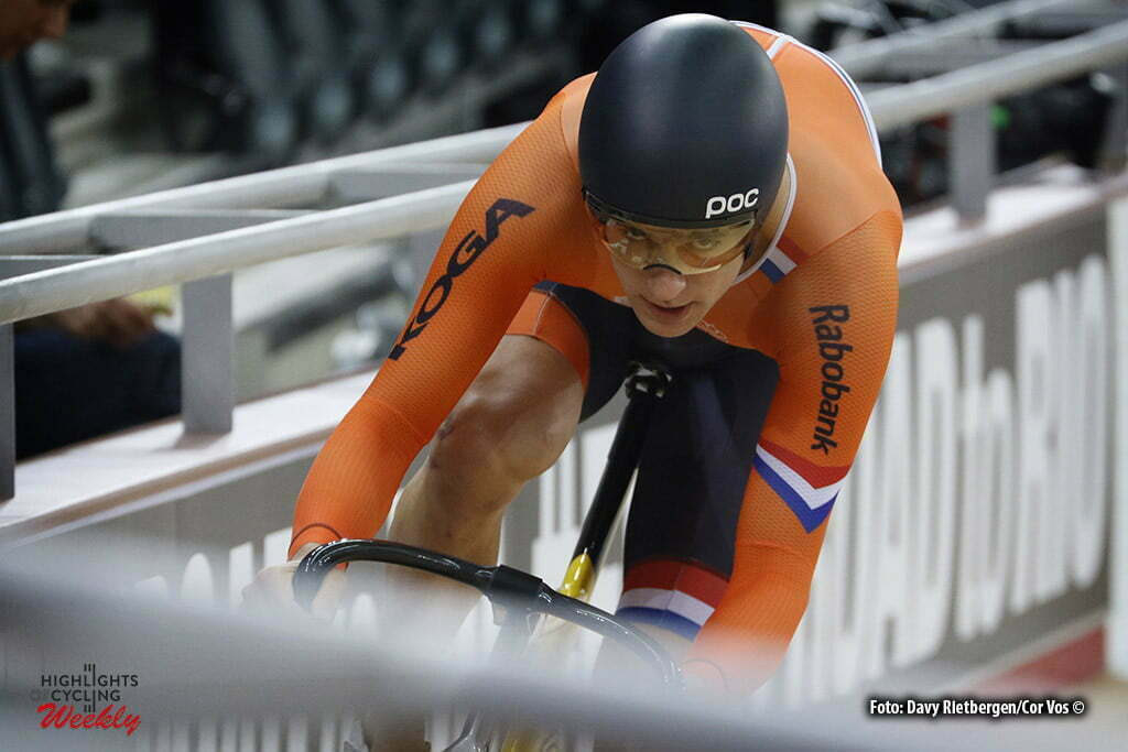 London - Great Brittain - wielrennen - cycling - radsport - cyclisme -Sprint - Theo Bos pictured during Worldchampionships Track 2016 in London (GBR) - photo Davy Rietbergen/Cor Vos © 2016