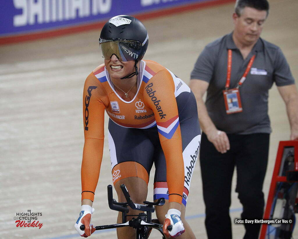 London - Great Brittain - wielrennen - cycling - radsport - cyclisme - Women's 500 M - Elis Ligtlee pictured during Worldchampionships Track 2016 in London (GBR) - photo Davy Rietbergen/Cor Vos © 2016
