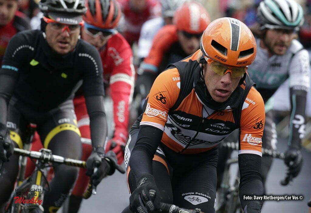 Settle - Great Britain - wielrennen - cycling - radsport - cyclisme - Huub Duijn (Netherlands / Roompot - Oranje Peloton) pictured during stage 1 of the Tour of Yorkshire - from Beverley to Settle in Yorkshire, England - photo Davy Rietbergen/Cor Vos © 2016