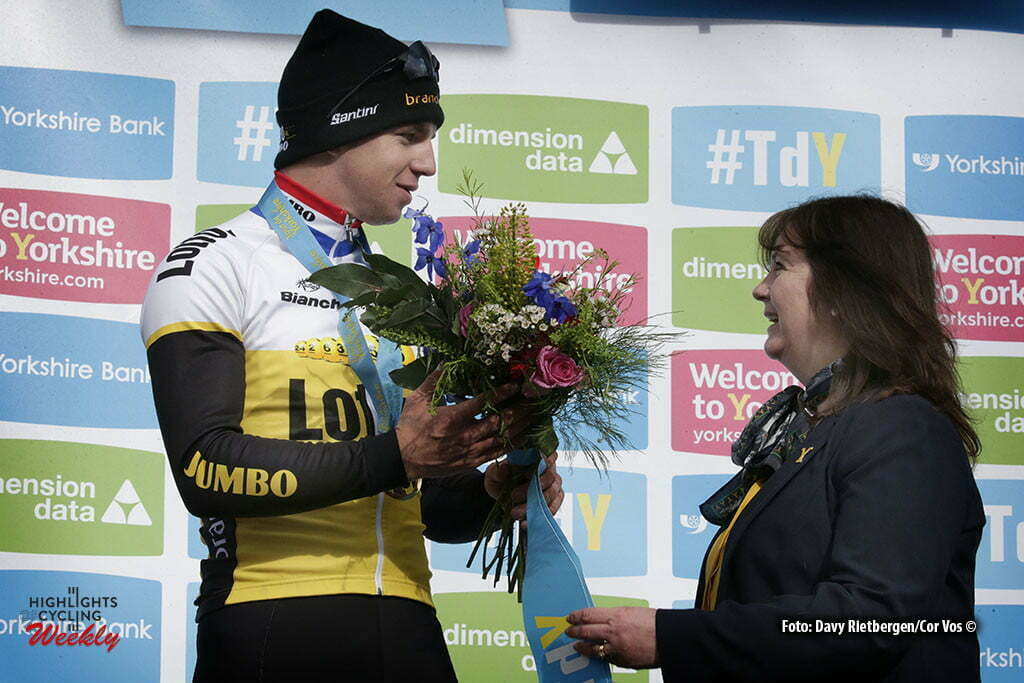 Settle - Great Britain - wielrennen - cycling - radsport - cyclisme - Dylan Groenewegen (Netherlands / Team LottoNL - Jumbo) pictured during stage 1 of the Tour of Yorkshire - from Beverley to Settle in Yorkshire, England - photo Davy Rietbergen/Cor Vos © 2016