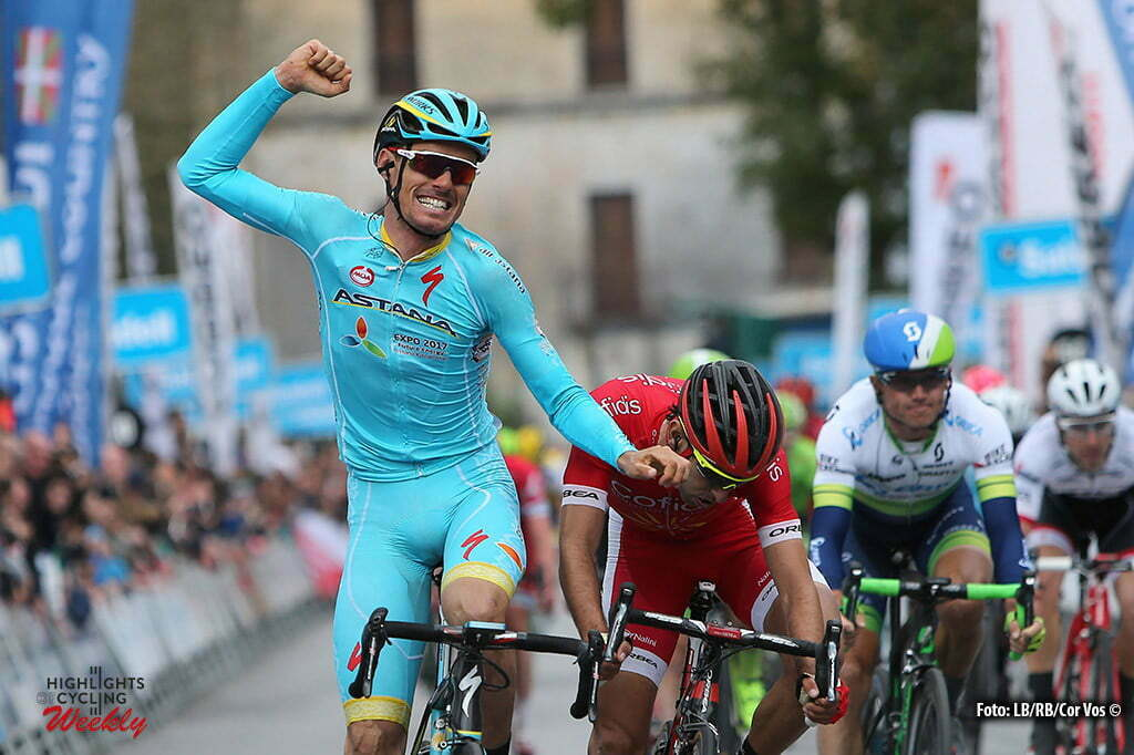 Markina-Xemein - Spain - wielrennen - cycling - radsport - cyclisme - Luis Leon Sanchez (Astana) pictured during Vuelta Ciclista al Pais Vasco 2016 (2.UWT) stage 1 from Etxebarria - Markina-Xemein - photo LB/RB/Cor Vos © 2016