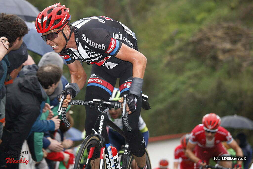 Orio - Spain - wielrennen - cycling - radsport - cyclisme - Warren Barguil (France / Team Giant - Alpecin) pictured during Vuelta Ciclista al Pais Vasco 2016 (2.UWT) stage 4 from Lesaka - Orio 165 km - 07/04/2016 - photo LB/RB/Cor Vos © 2016