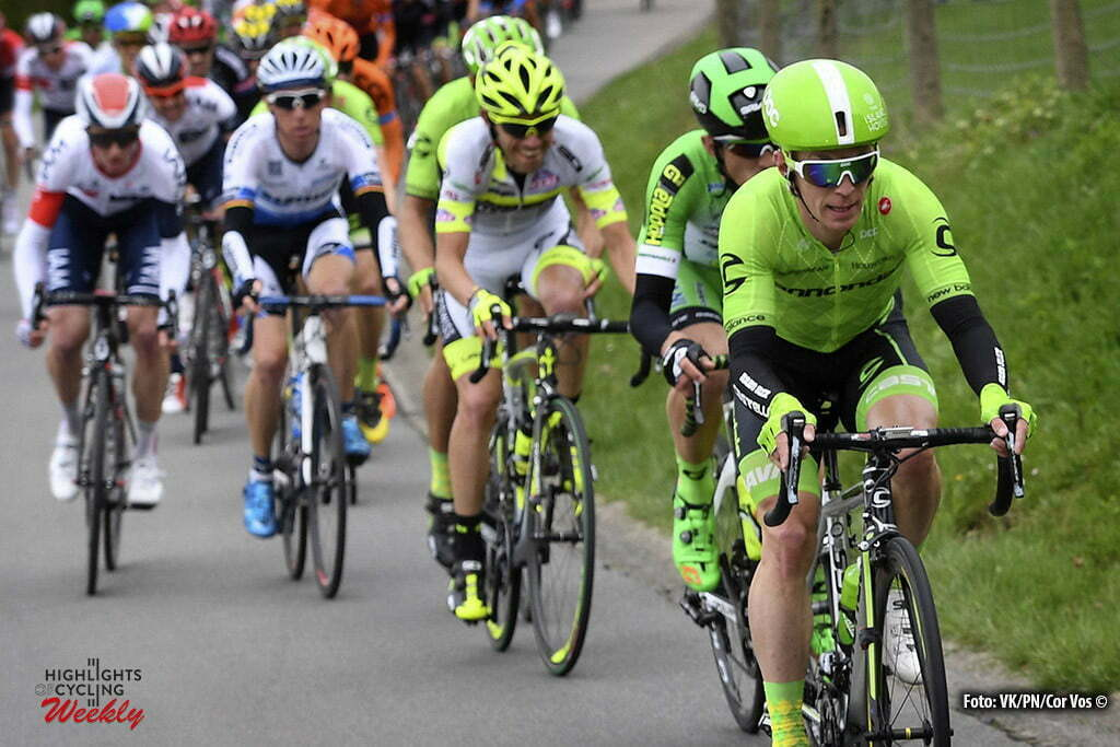 Overijse - Belgium - wielrennen - cycling - radsport - cyclisme - Slagter Tom-Jelte (Netherlands / Cannondale Pro Cycling Team) pictured during the 56th Brabantse Pijl cycling race with start in Leuven and finish in Overijse (205 Km) on April 13, 2016 in Overijse , Belgium - photo VK/PN/Cor Vos © 2016