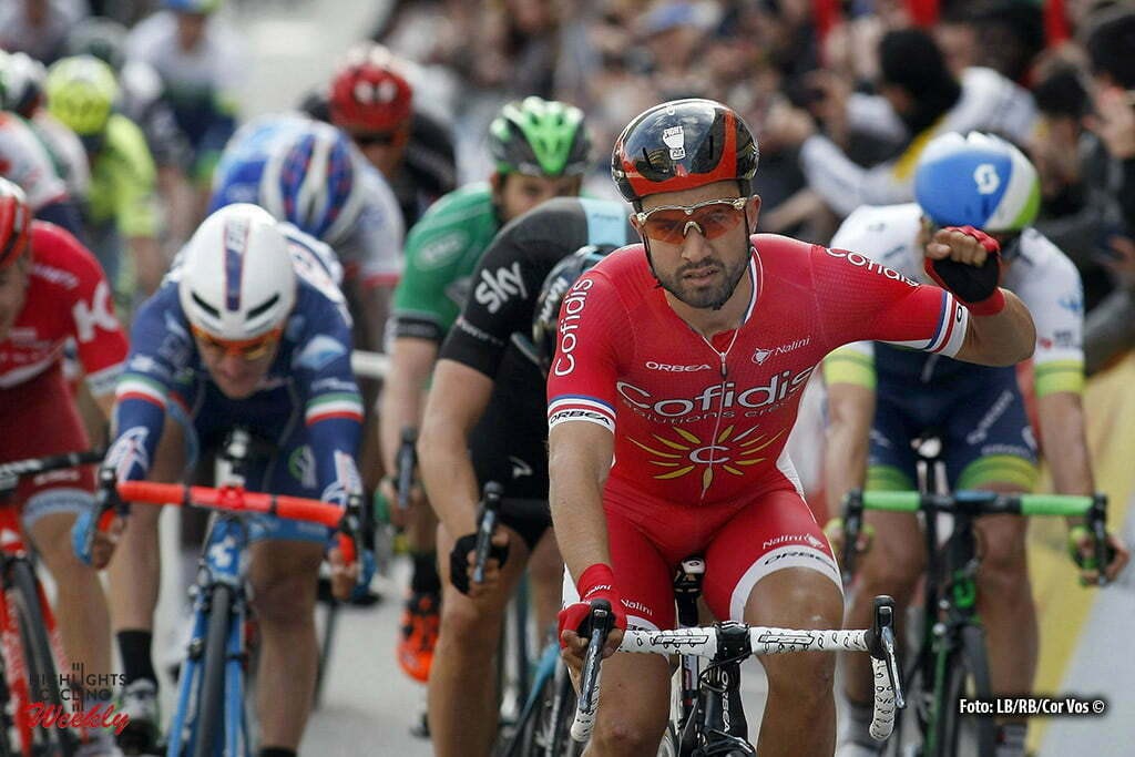 Calella - Spain - wielrennen - cycling - radsport - cyclisme - Nacer Bouhanni (Cofidis) pictured during Volta a Catalunya 2016 - stage 1 from Calella to Calella 175.8 km - 21/03/2016 - photo Cor Vos © 2016