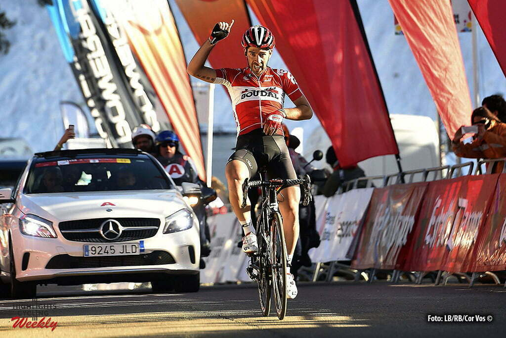 Port Aine - Spain - wielrennen - cycling - radsport - cyclisme - Thomas De Gendt (Belgium / Team Lotto Soudal) pictured during Volta a Catalunya 2016 - stage e from Baga to Port Aine - photo LB/RB/Cor Vos © 2016