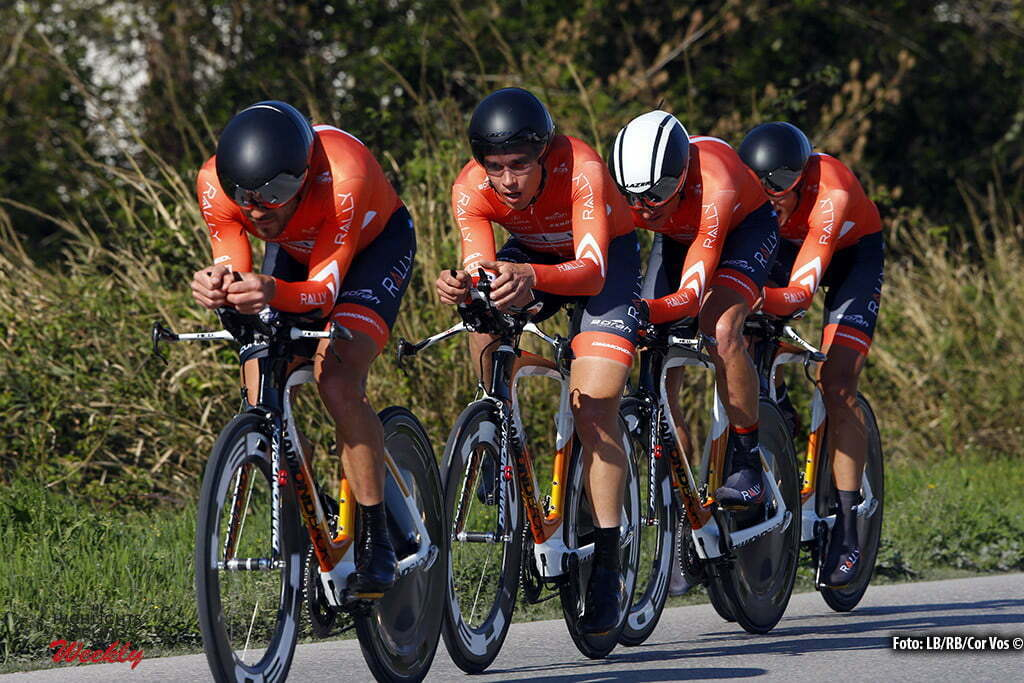 Gatteo - Italia - wielrennen - cycling - radsport - cyclisme - team Rally Cycling pictured during Team Time Trial Settimana Internazionale di Coppi e Bartali 2016 - stage 1 from Gatteo to Gatteo 13,3 km - 24/03/2016 TTT - photo LB/RB/Cor Vos © 2016
