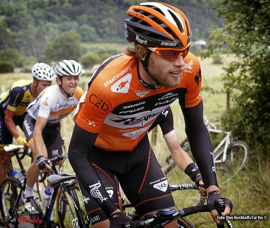 La Gileppe (Jalhay) - Belgium - wielrennen - cycling - radsport - cyclisme - Marc De Maar (Orange Cycling Team Roompot) pictured during Ster ZLM Toer 2015 stage 4 from Hotel Verviers - La Gileppe (Jalhay), België on juni 20 - photo Dion Kerckhoffs/Cor Vos © 2015