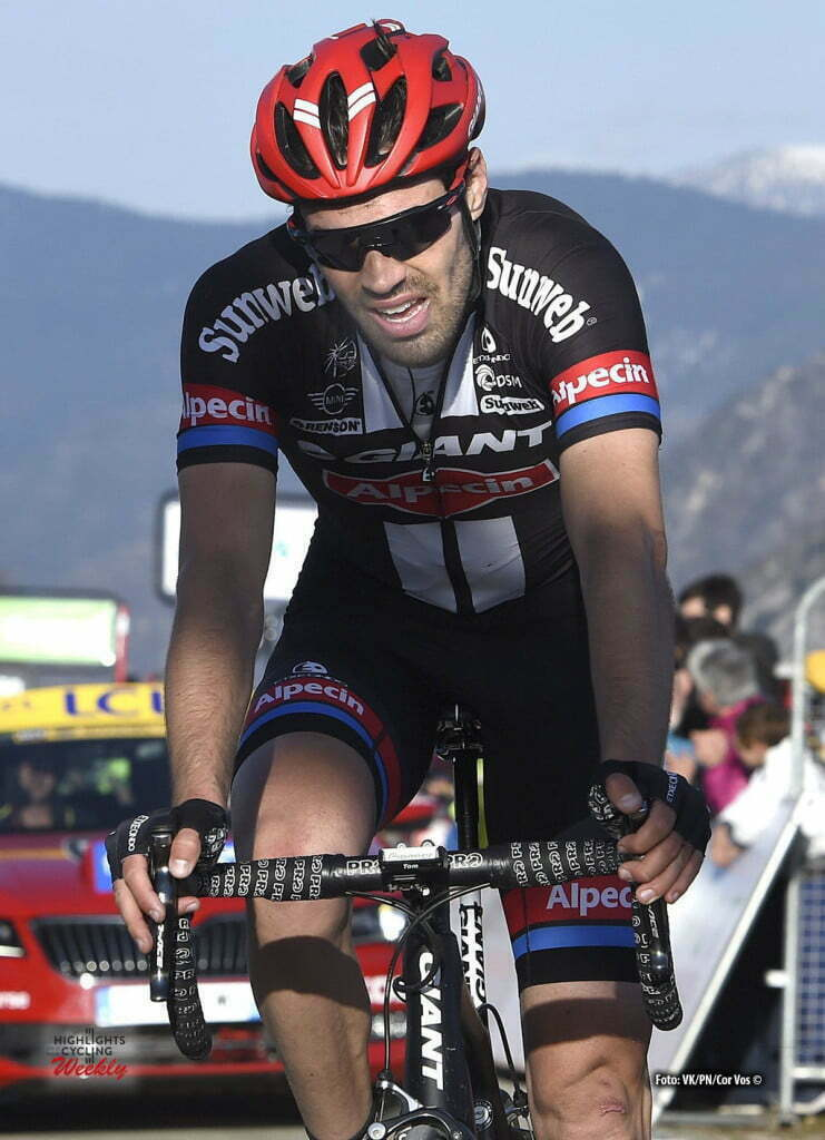 La Madone d'Utelle - France - wielrennen - cycling - radsport - cyclisme - Tom Dumoulin (Netherlands / Team Giant - Alpecin) pictured during stage 6 from with start in Nice and finish in with start in Nice and finish in La Madone d'Utelle, France France - Paris - Nice cycling race. - photo VK/PN/Cor Vos © 2016