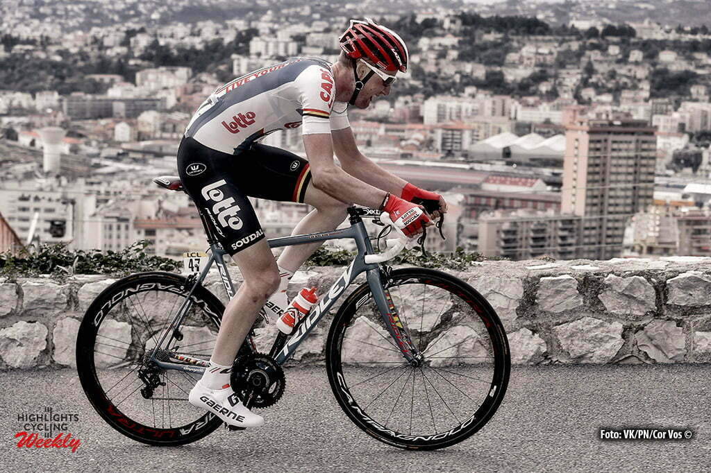 Nice - France - wielrennen - cycling - radsport - cyclisme - Tim Wellens (Belgium / Team Lotto Soudal) pictured during the stage 7 of the 74th Paris - Nice cycling race, a stage of 134 kms with start in Nice and finish in Nice, France - photo VK?PN/Cor Vos © 2016