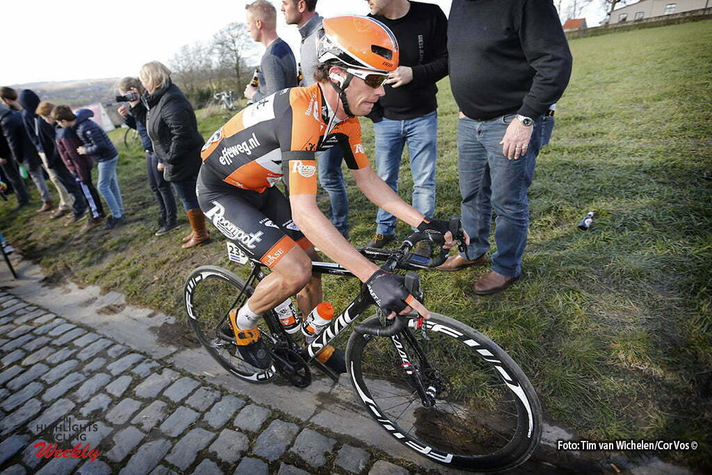 Gent - Belgium - wielrennen - cycling - radsport - cyclisme - Paterberg - Kreder Michel (Netherlands / Roompot - Oranje Peloton) pictured during E3 Prijs Harelbeke 2016 - photo Tim van Wichelen/Cor Vos © 2016