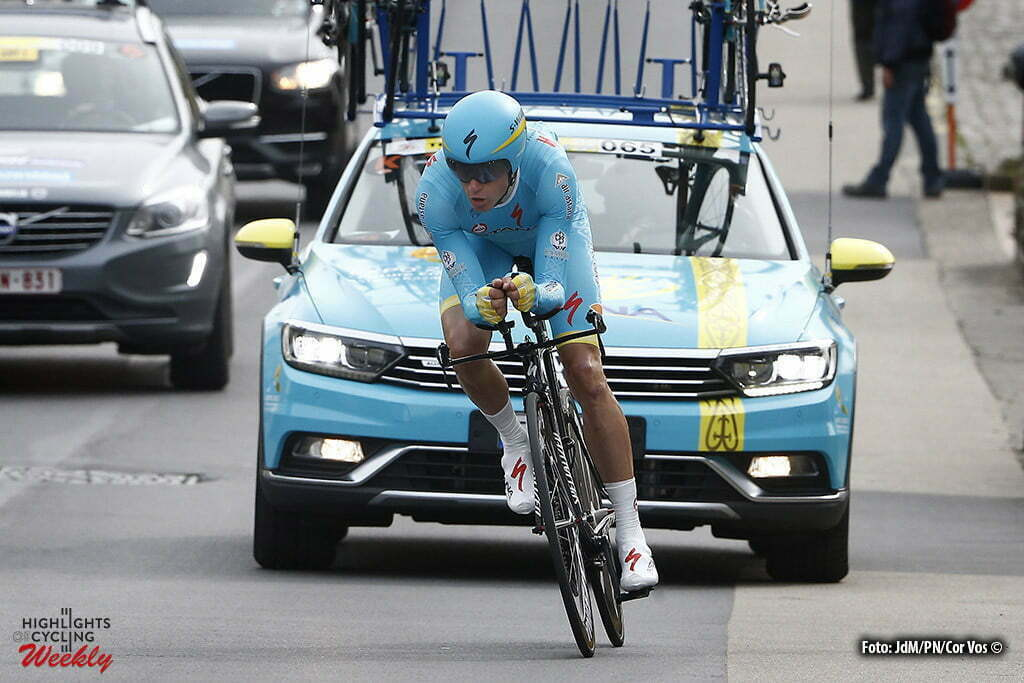 De Panne - Belgium - wielrennen - cycling - radsport - cyclisme - Lieuwe Westra (Netherlands / Team Astana) pictured during Driedaagse De Panne Koksijde 2016 - Stage 3b - from De Panne to De Panne ITT Time trial individual - photo JdM/PN/Cor Vos © 2016