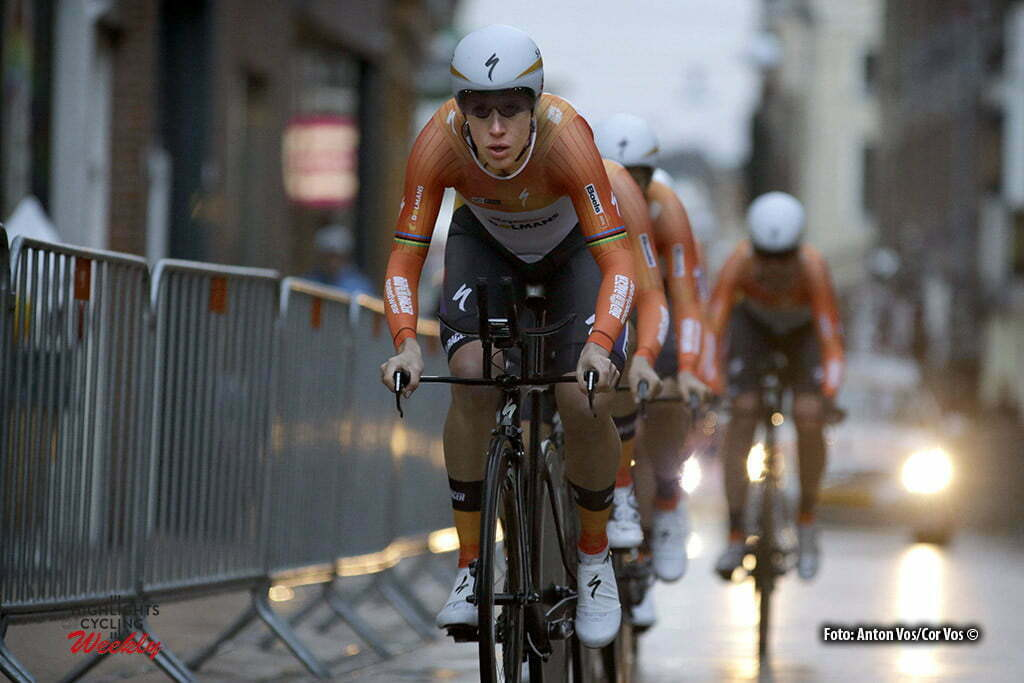 Groningen - Netherlands - wielrennen - cycling - radsport - cyclisme - Boels Dolmans Cycling Team pictured during stage 1 of the Energiewacht Tour 2016 - cyclingrace for women in Groningen. TTT - 11,3 kilometer from Groningen to Groningen - photo Anton Vos/Cor Vos © 2016