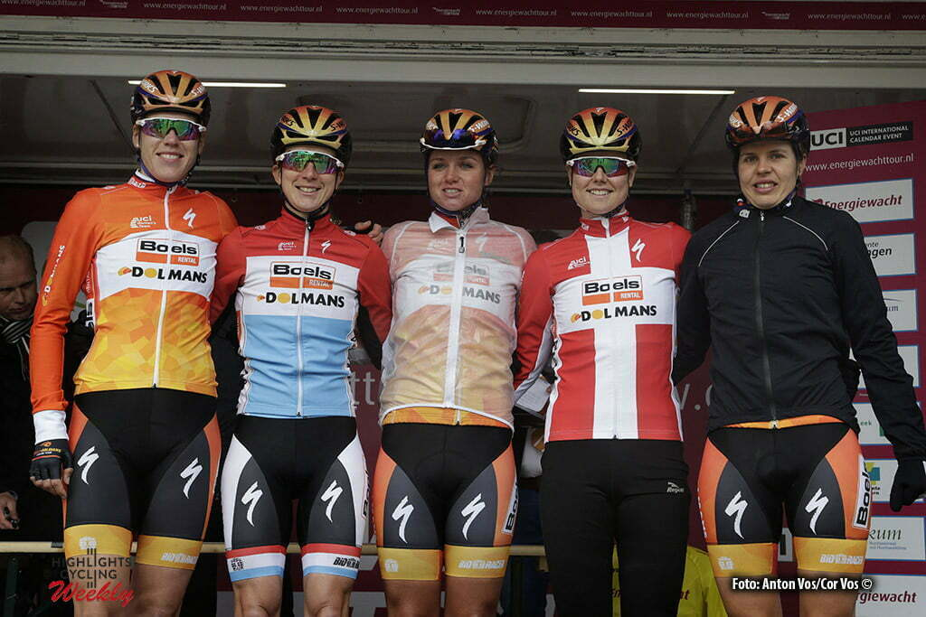 Winsum - Netherlands - wielrennen - cycling - radsport - cyclisme - Boels Dolmans Cycling Team pictured during stage 2 of the Energiewacht Tour 2016 - cyclingrace for women from Winsum to Winsum - photo Anton Vos/Cor Vos © 2016