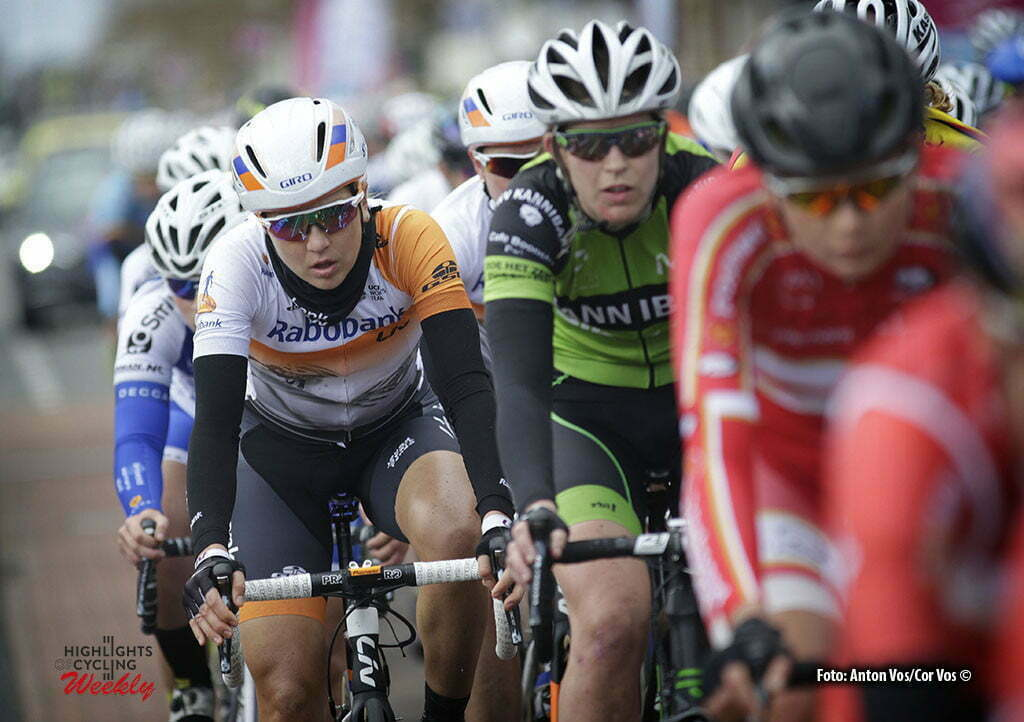Stadskanaal - Netherlands - wielrennen - cycling - radsport - cyclisme - Gillow Shara (Australia / Rabobank Liv Women Cycling Team) pictured during stage 3 of the Energiewacht Tour 2016 - cyclingrace for women from Musselkanaal to Stadskanaal - photo Anton Vos/Cor Vos © 2016