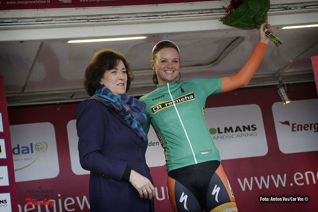 Stadskanaal - Netherlands - wielrennen - cycling - radsport - cyclisme - Blaak Chantal (Netherlands / Boels Dolmans Cycling Team) pictured during stage 3 of the Energiewacht Tour 2016 - cyclingrace for women from Musselkanaal to Stadskanaal - photo Anton Vos/Cor Vos © 2016