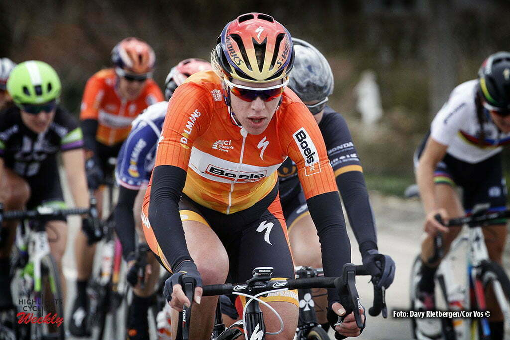 Wevelgem- Belgium - wielrennen - cycling - radsport - cyclisme - Ellen Van Dijk (Netherlands / Boels Dolmans Cycling Team) pictured during Gent - Wevelgem 2016 World Tour women - photo Davy Rietbergen/Cor Vos © 2016