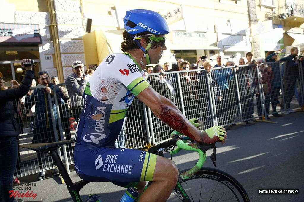 Sanremo - Italy - wielrennen - cycling - radsport - cyclisme - Michael Matthews (Orica GreenEDGE) pictured during Milano - Sanremo World Tour cycling race - photo LB/RB/Cor Vos © 2016