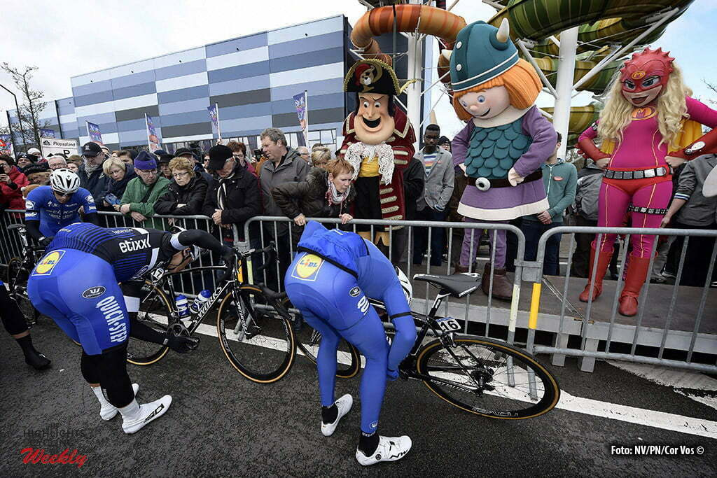 De Panne- Belgium - wielrennen - cycling - radsport - cyclisme - Illustration picture showing the start at Plopsaland pictured during Driedaagse De Panne Koksijde 2016 - Stage 1 - from De Panne to Zottegem - photo Tim Van Wichelen/Cor Vos © 2016