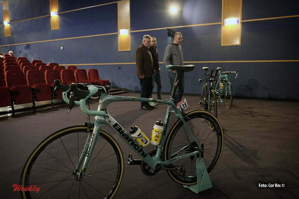 Eindhoven - Netherlands - wielrennen - cycling - radsport - cyclisme - fans and supporters of team LottoNL - Jumbo watching Milano - Sanremo in movie theater Pathe in Eindhoven - photo Cor Vos © 2016