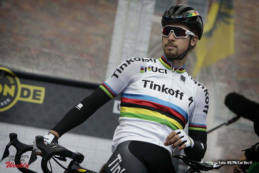 Oudenaarde - Belgium - wielrennen - cycling - radsport - cyclisme - Peter Sagan (Slowakia / Team Tinkoff - Tinkov) pictured during 100th Ronde van Vlaanderen - Tour de Flanders - from Brugge to Oudenaarde - photo Dion Kerckhoffs/Cor Vos © 2016