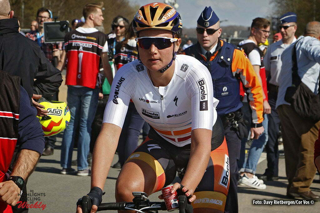 Oudenaarde - Belgium - wielrennen - cycling - radsport - cyclisme - Chantal Blaak (Netherlands / Boels Dolmans Cycling Team) pictured during the women Ronde van Vlaanderen - Tour de Flanders - from Oudenaarde to Oudenaarde - WT - world Tour photo Davy Rietbergen/Cor Vos © 2016