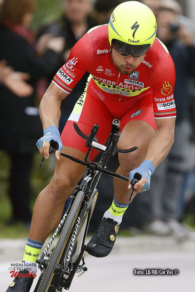 San Benedetto del Tronto - Italia - wielrennen - cycling - radsport - cyclisme - Peter Sagan (Slowakia / Team Tinkoff - Tinkov) pictured during the 51st Tirreno Adriatico 2016 stage 6 ITT Time Trial Individual from San Benedetto del Tronto to San Benedetto del Tronto 10 KM - photo IB/RB/Cor Vos © 2016
