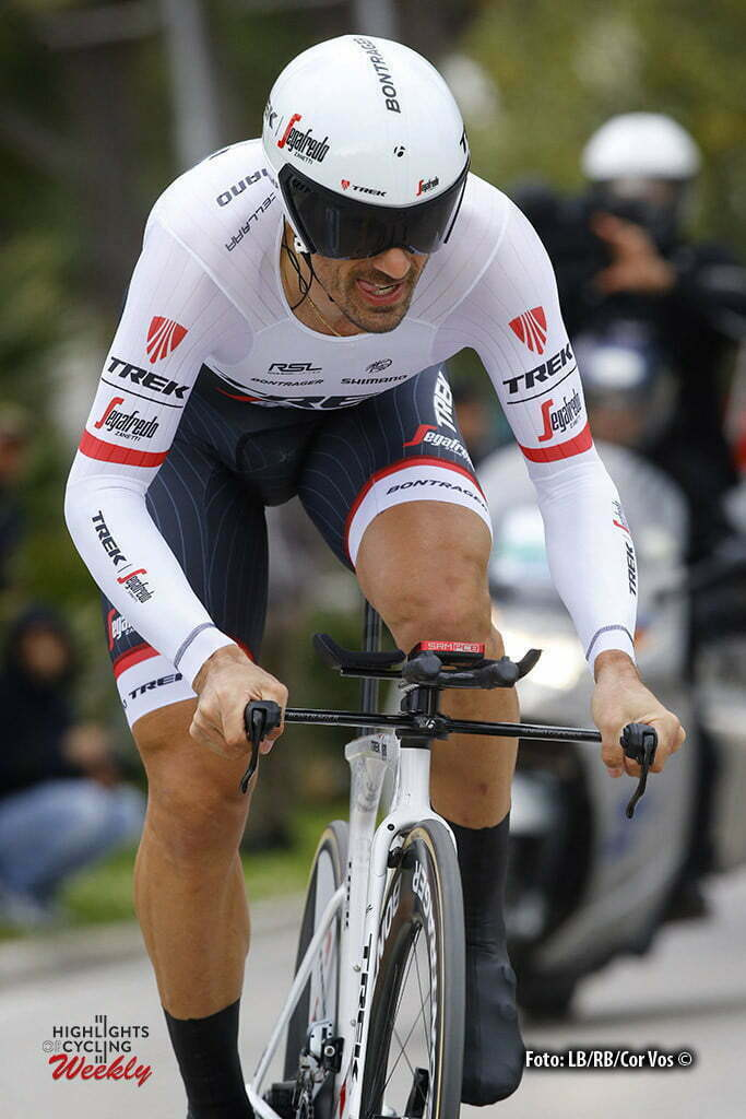San Benedetto del Tronto - Italia - wielrennen - cycling - radsport - cyclisme - Fabian Cancellara (Trek - Segafredo) -pictured during the 51st Tirreno Adriatico 2016 stage 6 ITT Time Trial Individual from San Benedetto del Tronto to San Benedetto del Tronto 10 KM - photo IB/RB/Cor Vos © 2016