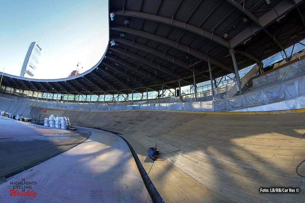 "Milano - Italy - wielrennen - cycling - radsport - cyclisme - illustration - sfeer - illustratie pictured during a photoshoot of the renovation of the Vigorelli Track (""Velodrome Maspes-Vigorelli"") in Milano, Italia - photo RB/Cor Vos © 2016"