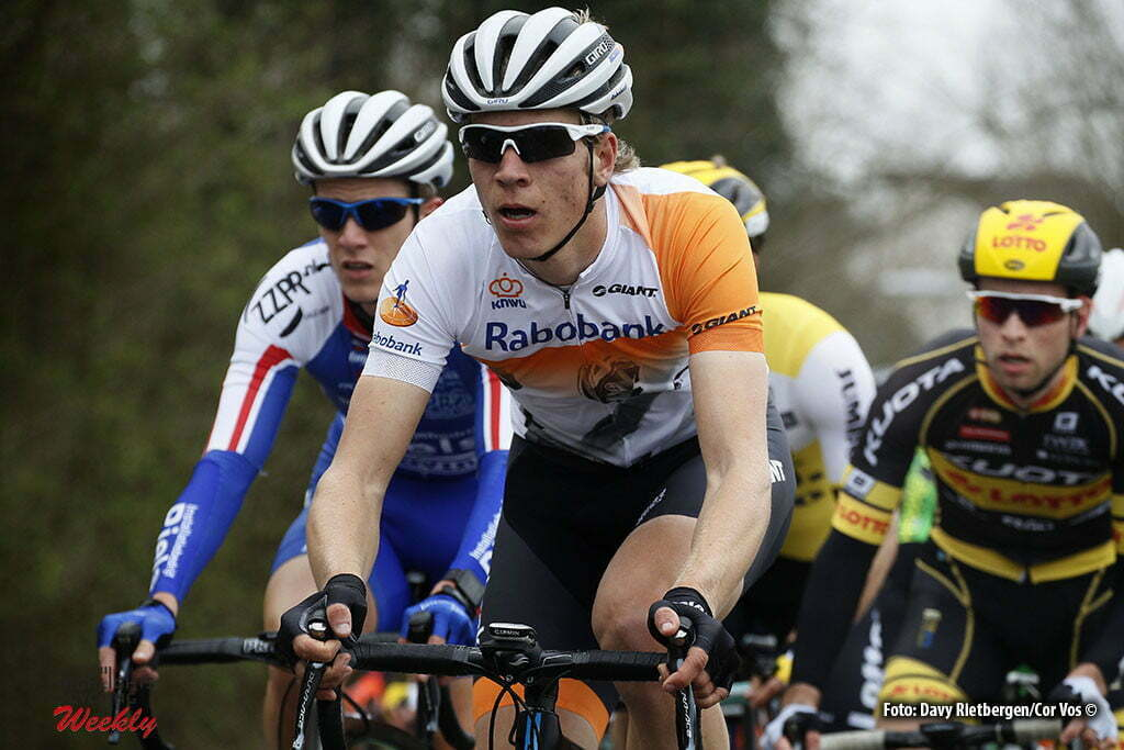 Eijsden - Netherlands - wielrennen - cycling - radsport - cyclisme - Cees Bol (Netherlands/Rabobank Development Team) pictured during the Volta Limburg Classic 2016 - photo Davy Rietbergen//Cor Vos © 2016