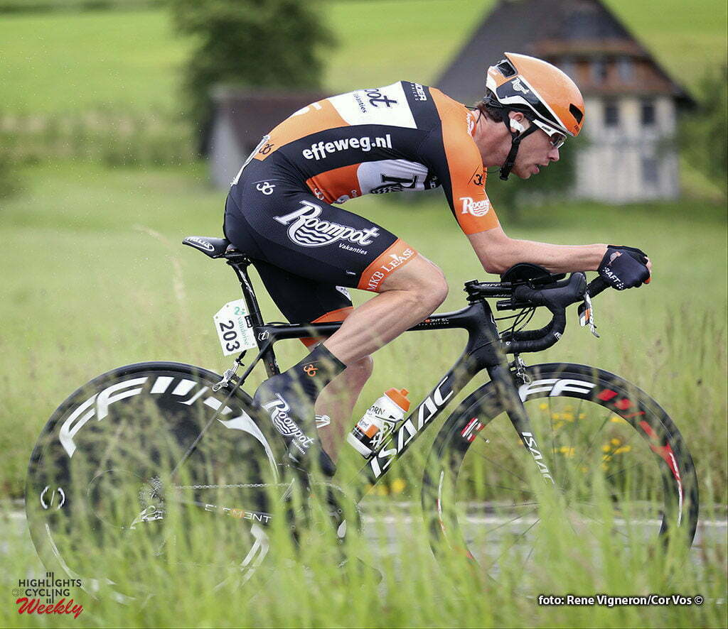 Baar - Switserland - wielrennen - cycling - radsport - cyclisme - Michel Kreder (Netherlands / Roompot - Oranje Peloton) pictured during stage 1 of the Tour de Suisse 2016 from Baar to Baar (6,4 km) ITT Team Trial Individual - photo Rene Vigneron/Cor Vos © 2016