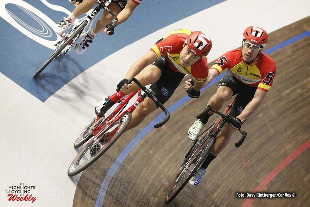 Amsterdam - Netherlands - wielrennen - cycling - radsport - cyclisme - Albert Torres (SPA) - Sebastian Mora Vedri (SPA) pictured during 6 Six Day Amsterdam day 5 - photo Davy Rietbergen/Cor Vos © 2016