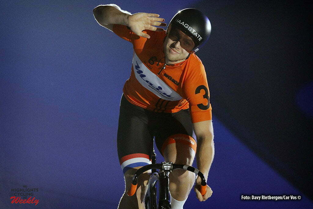 Amsterdam - Netherlands - wielrennen - cycling - radsport - cyclisme - Nilis van 't Hoenderdaal (NED) pictured during 6 Six Day Amsterdam day 5 - photo Davy Rietbergen/Cor Vos © 2016