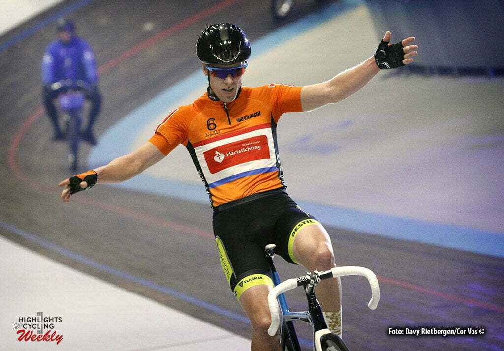 Amsterdam - Netherlands - wielrennen - cycling - radsport - cyclisme - Wim Stroetinga (NED) pictured during 6 Six Day Amsterdam day 5 - photo Davy Rietbergen/Cor Vos © 2016